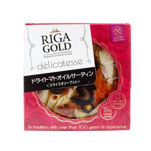 オイルサーディン ドライトマトオイルサーディン スライスオリーブ入り オリーブオイル漬け リガゴールド 120g いわし 缶詰 おつまみ|mamapan