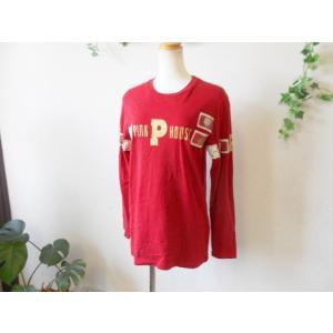 ピンクハウス PINKHOUSE ロゴプリント&ワッペン付 Tシャツ|mamapocket4976|04