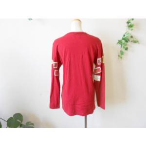 ピンクハウス PINKHOUSE ロゴプリント&ワッペン付 Tシャツ|mamapocket4976|06