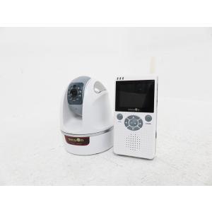 【中古】セキュオン 可動式デジタルベビーモニター ホワイト