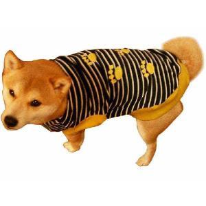 犬服 ドッグウェア Mサイズ(小型犬)以下オーダー DOGタンクトップ 黒ボーダー♪ ポイント10倍 メール便送料無料(代金引換別途送料600円〜)|mamav