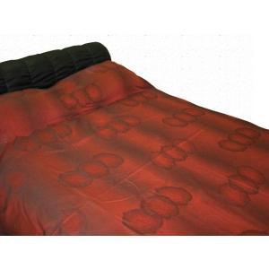 日本製!ベッドカバー ベッドスプレッド・シングル フォレスト レターパック送料無料(代引き不可) mamav
