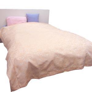 ■商品ポイント! しっかりと張りがありますが、柔らかな手触りのベッドスプレッドです。  普段使いはも...