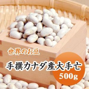 豆 白いんげん豆 大手亡 カナダ産 500g