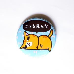 布バッチ こっち見んな NB-1|mamekou-boo