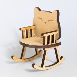 ミニチュアもふもふ猫空間 ゆりイス キット MM-30|mamekou-boo