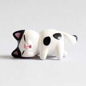 ミニチュアもふもふ猫空間 猫ほっぺぷに ハチ MM-48|mamekou-boo