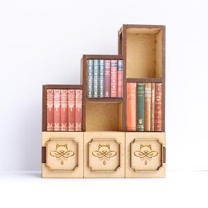 ねんどろいどスケール 本棚(ほんだにゃ) 完成品 ドールハウス|mamekou-boo