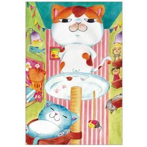 フッ愚民め。 猫ポストカード|mamekou-boo