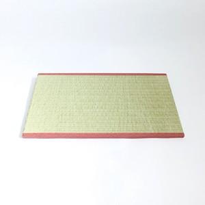 畳屋さんとコラボ ミニチュア用ディスプレイ和風畳 赤|mamekou-boo