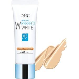 DHC 化粧品 薬用PWクリームファンデーションピンクオークル01(福岡在庫)