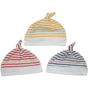 【メール便送料無料】新生児 ボーダー柄帽子(日本製)BABY/赤ちゃん/帽子/ベビー/|mammam