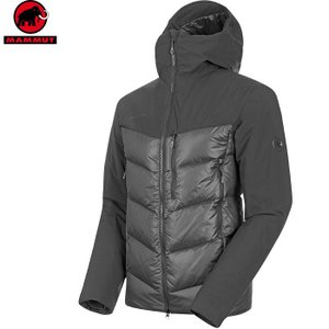 MAMMUT マムート Rime Pro IN Hybrid Hooded Jacket AF Me...