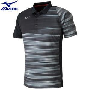 ccc5df96d540e ミズノ MIZUNO ゲームシャツ(ラケットスポーツ)[ユニセックス](09)ブラック 62JA801109