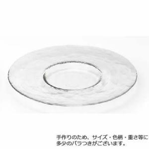 ダブルエフ リムレット プレートCR265≪3セット≫品番:F-49380 【皿・ボウル】 <皿 セット/プレート 皿/食器/洋食器/ガラス食器北洋硝子/|mamoru-k