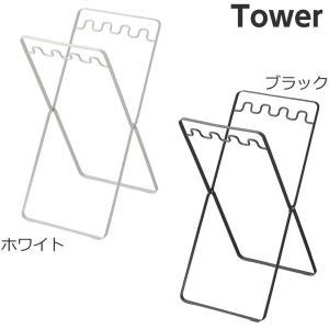 【レジ袋スタンド タワー】(ホワイト,ブラック) ゴミ袋ホルダー式 ゴミ箱 ダストボックス ごみ箱|mamoru-k