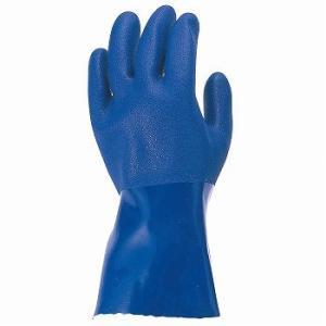塩ビ手袋 おたふく手袋 耐油ビニール手袋 3双入×5セット [総数15双] 208 ビニール手袋 裏布あり mamoru-k