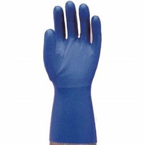 【ゴム手袋】指先強化水産用手袋 (裏メリヤス) [10双入]/品番:631 (L・LL・3Lサイズ) エステー (作業用手袋)<ビニール手袋