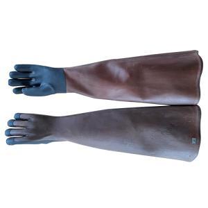 天然ゴム手袋 弘進ゴム 特長5本指手袋 J0001AC ゴム手袋 裏毛なし|mamoru-k