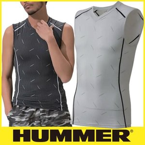 HUMMER ハマー クールコンプレッションノースリーブシャツ 9041-15|mamoru-k