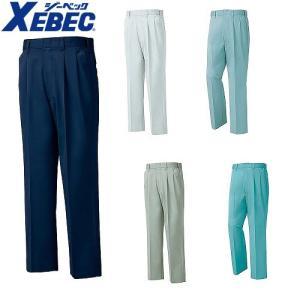 作業服 作業着 ジーベック 1282 プリーツロンミニスラックス 【作業ズボン】メンズ 男性用 XEBEC|mamoru-k