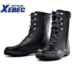 安全靴 ロング/ジーベック/85023 安全長編上(靴)/XEBEC<メンズサイズ/大きいサイズ/幅広/3E/JIS/先芯あり/クッション性|mamoru-k