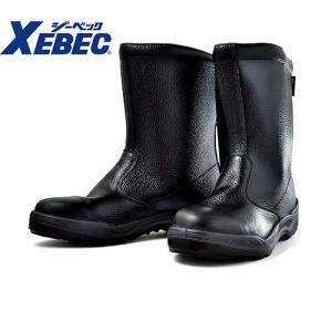 安全靴 ロング/ジーベック/85024 安全半長靴/XEBEC<メンズサイズ/大きいサイズ/幅広/3E/JIS/先芯あり/クッション性/反射|mamoru-k