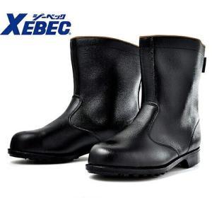 安全靴 ロング/ジーベック/85028 安全半長靴/XEBEC<メンズサイズ/大きいサイズ/幅広/3E/JIS/先芯あり/反射材/Big/セ|mamoru-k