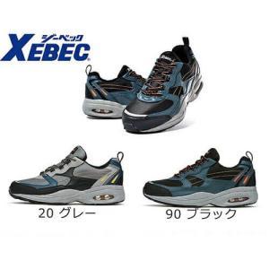 安全靴 ジーベック XEBEC 85109 静電防水セフティシューズ 先芯あり スニーカータイプ メンズ 男性用 作業靴 紐靴 mamoru-k