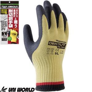 耐切創手袋 ユニワールド ワンダーグリップ デクスカット 1双 WG723