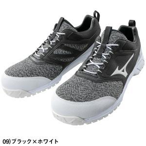 安全靴 ミズノ MIZUNO オールマイティ ES31L JSAA規格 作業靴 ニット素材安全靴 2019年 新作 新商品|mamoru-k|02