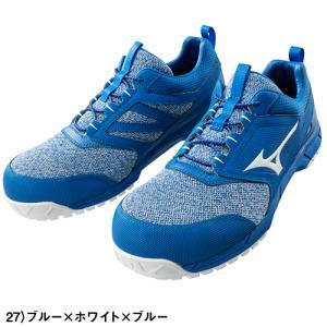 安全靴 ミズノ MIZUNO オールマイティ ES31L JSAA規格 作業靴 ニット素材安全靴 2019年 新作 新商品|mamoru-k|03