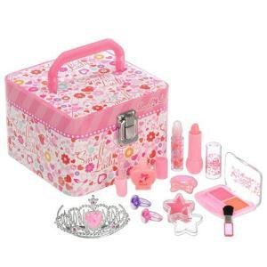 スモールレディ ラブリー メイクアップ ボックス レイス キッズ コスメ メイク セット 子供 誕生日 プレゼント こどもの日 女の子 小学生 おもちゃ 6歳 7歳