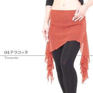 軽やかヒップスカーフ 全5色   ベリーダンス ヒップスカーフ スカート ヒップスカート レッスン着 練習着 衣装 レッスンウェア|manasmana|12