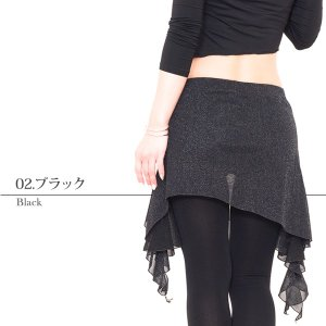 軽やかヒップスカーフ 全5色   ベリーダンス ヒップスカーフ スカート ヒップスカート レッスン着 練習着 衣装 レッスンウェア|manasmana|10