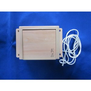 日本製 箱正 木製エサ箱 M-小|manboo-shop