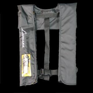 ラムセス膨張式救命具 ライフジャケット ブラック|manboo-shop