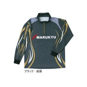 マルキュージップアップシャツ ブラック|manboo-shop