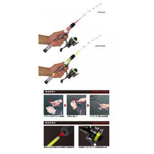PROX クリアロックプラスセット(スピニング)蛍光イエロー44SSS|manboo-shop