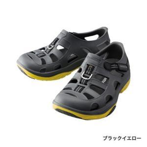 シマノEVAIRマリンフィッシングシューズ FS-091I ブラックイエロー|manboo-shop