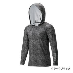 シマノ サンプロテクションロングスリーブフーディシャツ IN-062Q|manboo-shop