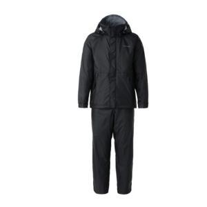 シマノ DSベーシックレインスーツRA-027Q ブラック manboo-shop