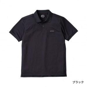 シマノ半袖ポロシャツSH-074U ブラック manboo-shop