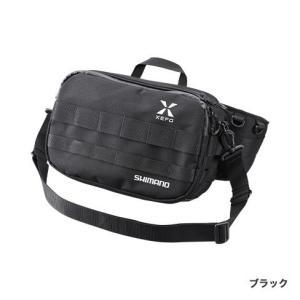 シマノ ゼフォータフウエストバッグBW-211S ブラックMサイズ|manboo-shop