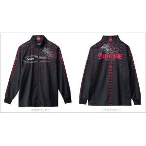 サンラインフルジップアップシャツSUW-5568HT|manboo-shop