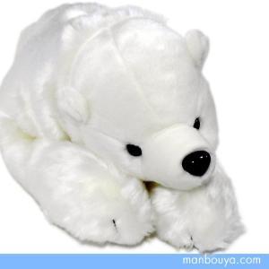 シロクマ ぬいぐるみ 水族館グッズ AQUA マリンシリーズ 白くまくん Lサイズ 64cm まんぼう屋ドットコム|manbouya