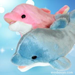 アクア ぬいぐるみ イルカ セット AQUA イルタン Sサイズ ブルー ピンク セット 30cm|manbouya