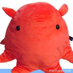 メンダコのぬいぐるみ 水族館 グッズ A-SHOW(栄商) 深海魚シリーズ メンダコクッション XLサイズ 直径60cm まんぼう屋ドットコム|manbouya