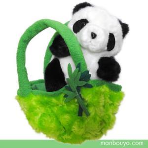 ぬいぐるみ パンダ キュート販売 CUTE safari collection お出かけシリーズ パンダ 12cm|manbouya