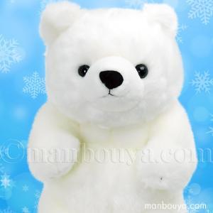 海の生き物や動物の可愛いぬいぐるみメーカー、キュート販売(CUTE)さんのマリンコレクション。白熊の...